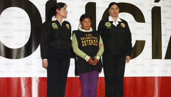 LA INVESTIGAN. Pericia psicológica señala que la secuestradora Sara Alejos tiene rasgos antisociales. (Mónica Palomo/USI)