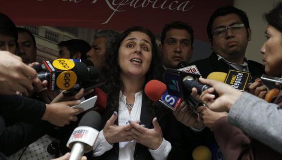 Patricia García irá al Congreso para informar la situación laboral de Carlos Moreno. (Atoq Ramón/Perú21)