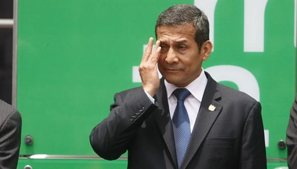 Escala de Humala en Francia no fue bien vista.  (Mario Zapata)