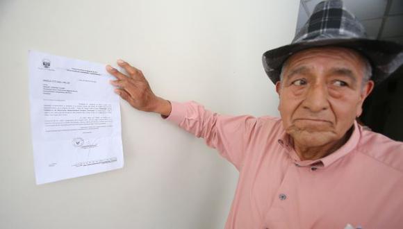 Zenteno tiene antecedentes. (Martín Pauca)