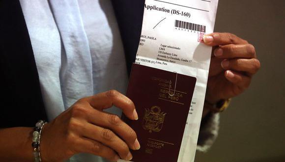 Actualmente, el costo de una visa B1 y B2 es de US$160 y es válida hasta por 10 años. (Foto: Andina)
