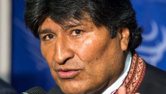 Morales será el anfitrión. (AFP)