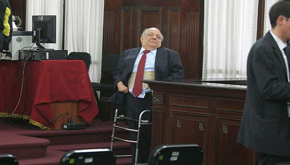 Don 'Bieto' durante una audiencia del juicio por 'petroaudios'. (USI)