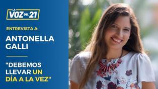 """Antonella Galli, psicóloga, sobre como afrontar la cuarentena: """"debemos llevar un día a la vez"""""""
