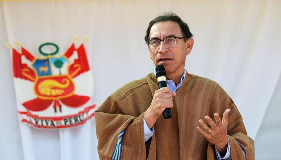 Martín Vizcarra dio este discurso por el 195 aniversario de la Batalla de Junín. (Foto: Andina)
