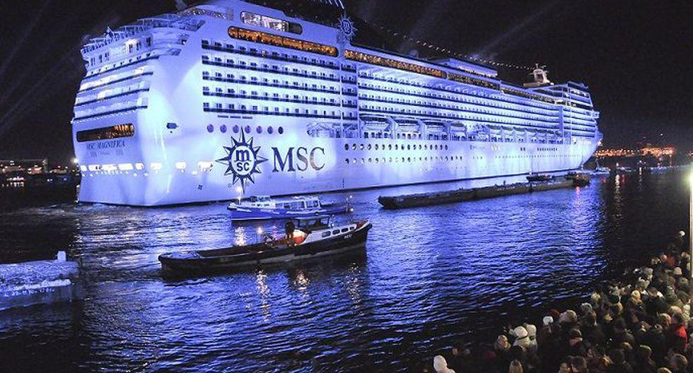 Crucero inició su nueva gira, que recorre 23 países, 43 destinos y 5 continentes, incluyendo por primera vez el Perú. (Foto: MSC Magnifica)