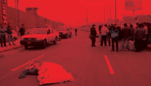 Joven murió atropellado en La Molina. (USI)