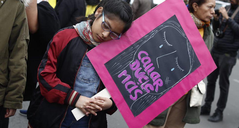 """Así se desarrolla la cuarta marcha Ni Una Menos, denominada """"Por Mujeres Libres de Violencia"""". (Fotos: César Campos/GEC)"""