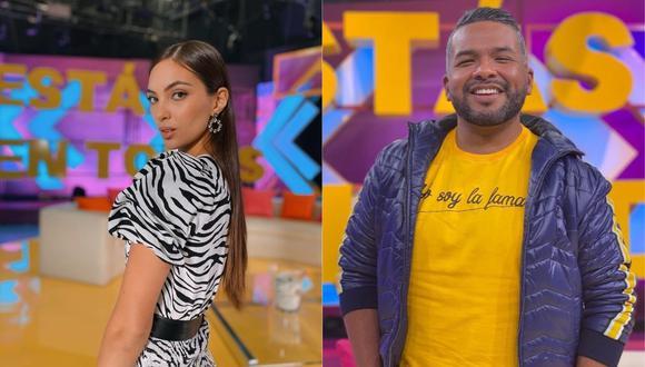 """'Choca' fue reemplazado por Natalie Vértiz en """"América Espectáculos"""" tras ampay en Punta Hermosa. (Foto: @chocamandrose/@msperu)"""