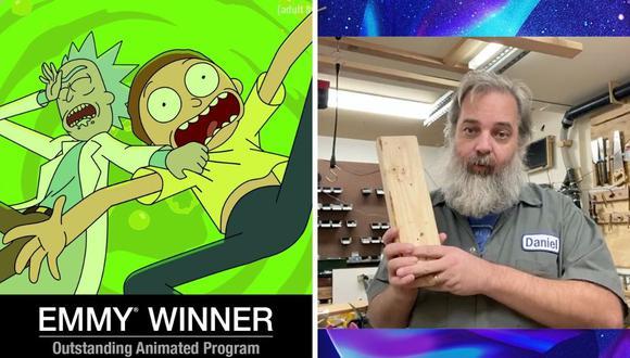 "Rick and Morty gana su segundo Emmy y vence a ""BoJack Horseman"". (Foto: Twitter / @rickandmorty)."