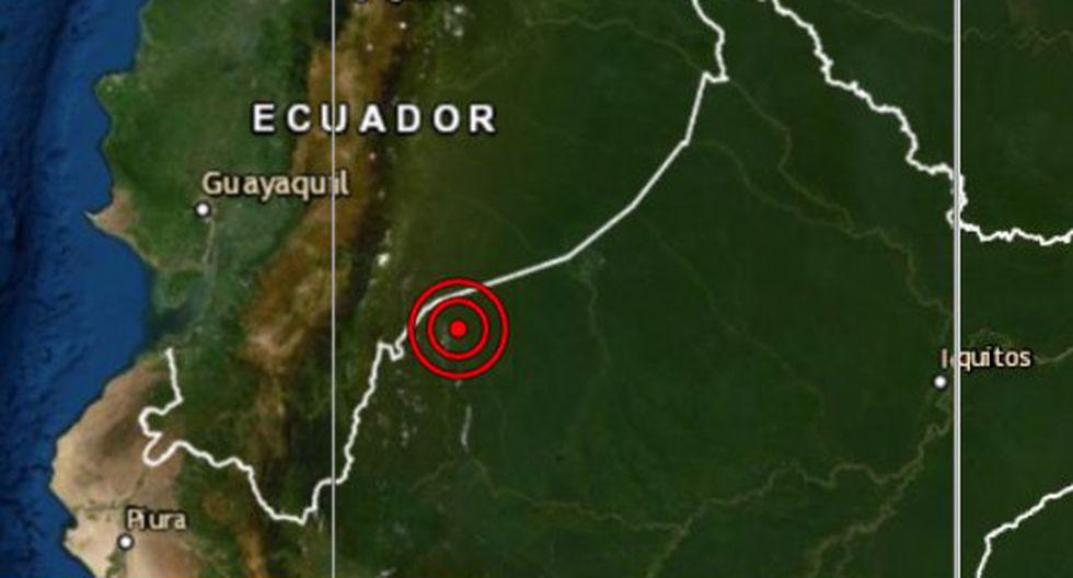 El epicentro de este movimiento telúrico se ubicó a 143 kilómetros al oeste del distrito de Pastaza, en la provincia de Alto Amazonas, en la región de Loreto. (Foto: IGP)