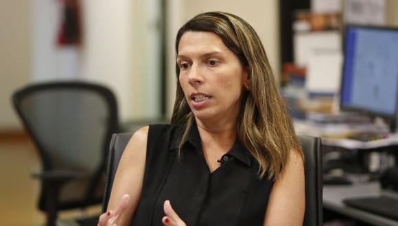 Entrevista a la gerenta de Datum sobre la situación del Partido Morado. (Perú21)