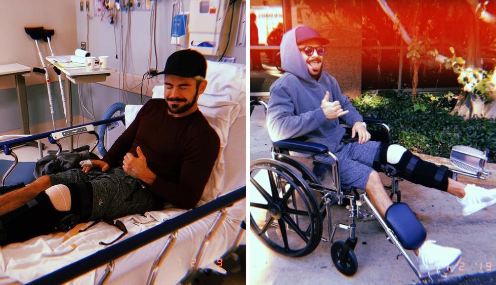 Zac Efron se somete a cirugía tras accidentarse esquiando (Foto: Instagram)