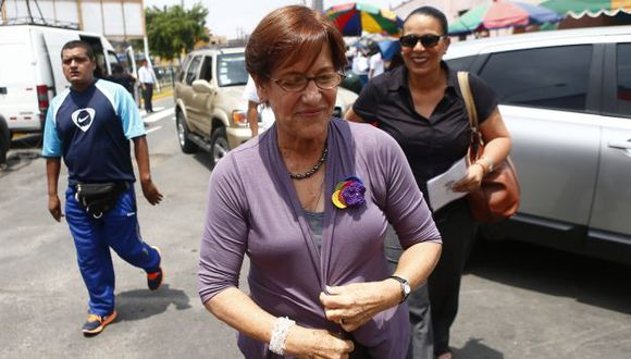 EN CUENTA REGRESIVA. Villarán sigue participando en actividades ediles a 11 días de la revocatoria. (Rafael Cornejo)