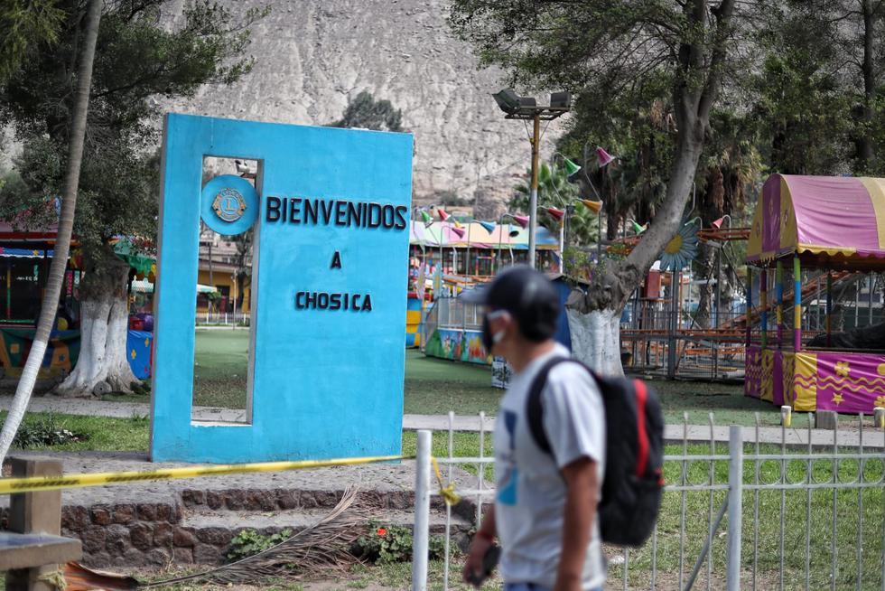 Vecinos de Chosica acatan cuarentena dispuesta por el Estado. (Fotos: Giancarlo Ávila/GEC)