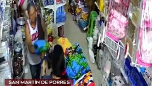 Así actúan las 'tenderas' en locales de San Martín de Porres