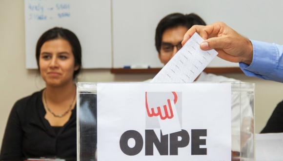 Las elecciones internas serán organizadas por la Oficina Nacional de Procesos Electorales. (Foto: Andina)