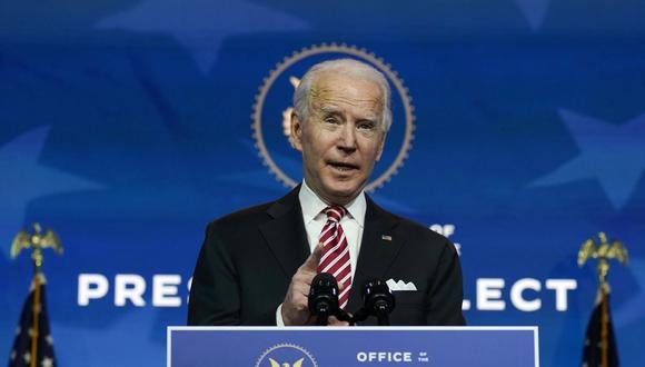 """""""Biden también enfrenta el reto de desmantelar parcialmente el proteccionismo arancelario que impuso Trump, lo que ayudaría a aliviar las tensiones comerciales con China y la Unión Europea"""". (Foto de archivo: AP)"""