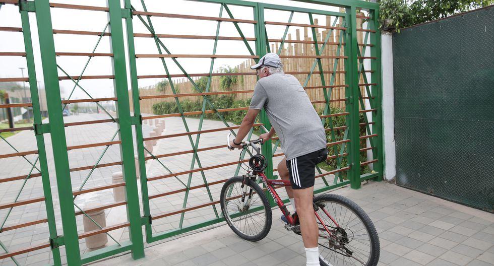 Reja restringe acceso al Parque de la Amistad. (GEC)