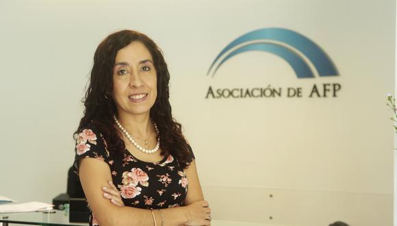 Giovanna Prialé subrayó que una AFP estataldebe tener los estándares de calidad suficientes para poder invertir y generar un retorno positivo(Foto: GEC)