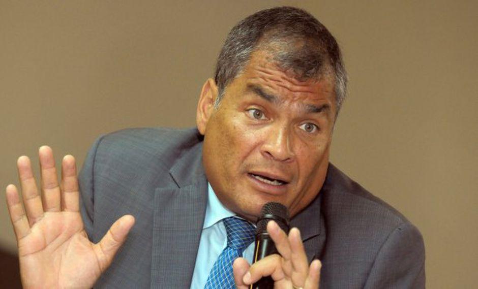 El ex presidente de Ecuador, Rafael Correa, ha negado su implicación en los hechos y aduce que es objeto de una persecución política. (Foto: EFE)