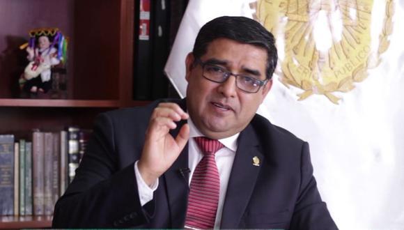 Fiscal Vïctor Raúl Rodríguez Monteza no participa de la audiencia de casación de Keiko Fujimori. (Foto: YouTube)