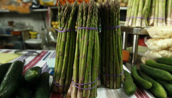 Los espárragos fueron uno de los productos más vendidos al exterior. (Foto: GEC)