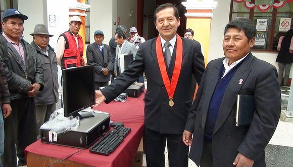 El juez supremo provisional Manuel Quintanilla protagoniza un audio con César Hinostroza que involucra a un magistrado que se inhibió de la casación de Keiko Fujimori. (Foto: Poder Judicial)