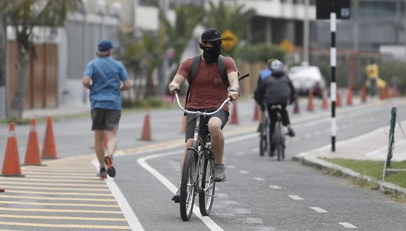 Con la pandemia aumentó el uso de bicicletas como medio de transporte. (Foto: Britanie Arroyo/ @photo.gec)