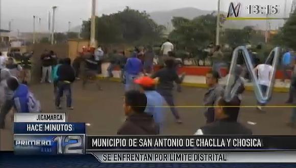 Disputa limítrofe deja dos muertos y 15 heridos en Huarochirí. (Captura de video)