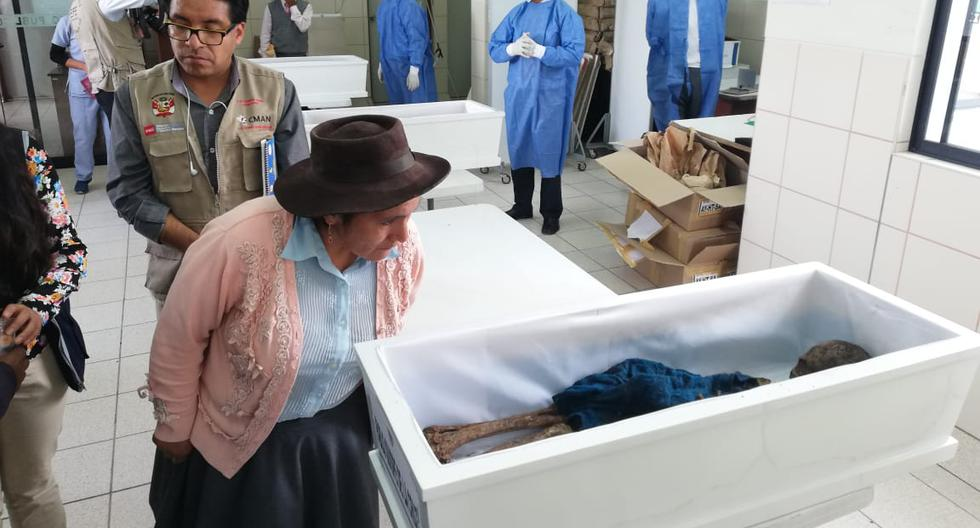 Después de 34 años sepultarán con dignidad a las víctimas. (Foto: ONG Paz y Esperanza)