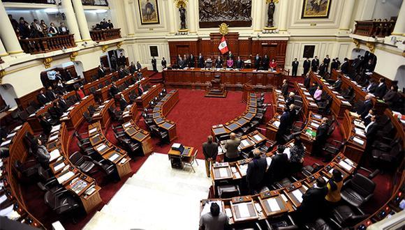 Congreso de la República podría debatir mañana proyecto sobre financiamiento de partidos políticos. (Foto: Agencia Andina)