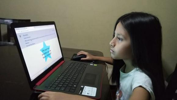 Kuriotik es una plataforma peruana que permite a las niñas ser agentes de cambio mediante la creación de un espacio seguro en donde se fomenta su creatividad y la curiosidad. (Foto: Agencia Andina)