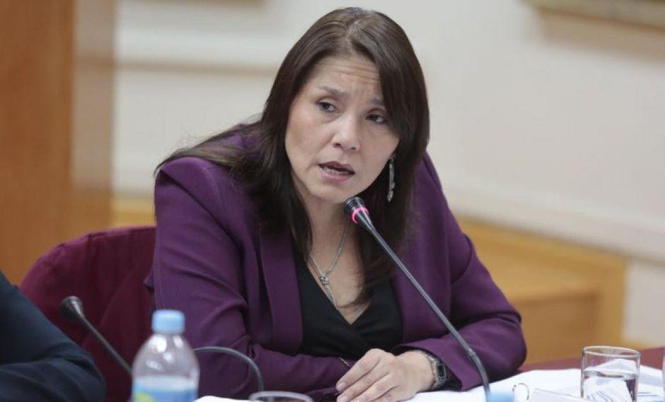 La ministra Paola Bustamanteaseguró que el país ya ha demostrado que a través de movilizaciones puede llamar la atención del Parlamento para que se priorice determinados proyectos. (Foto: GEC)