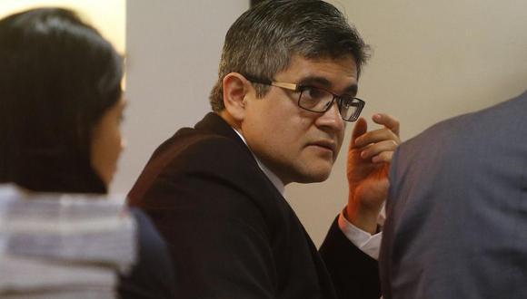 El fiscal José Domingo Pérez investiga los casos de PPK y Yehude Simon. (Foto: GEC)