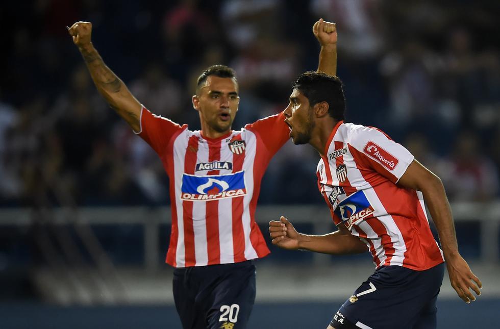 Alianza Lima visitó a Junior por la cuarta jornada del grupo H de la Copa Libertadores. (AFP)