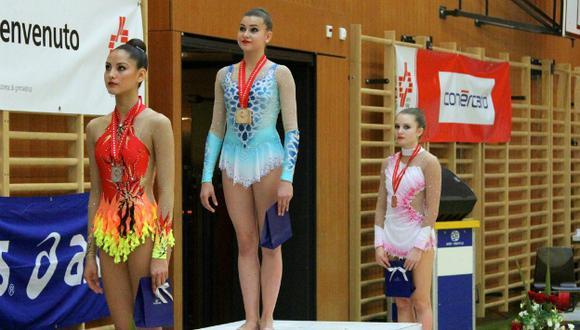 Cerca de 200 gimnastas participaron en total en diferentes categorías.