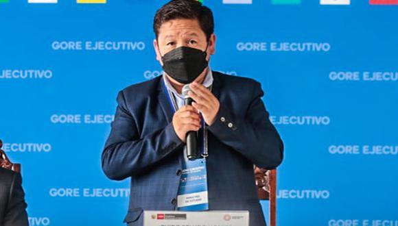 Primer Guido Bellido amenazó esta mañana con nacionalizar el gas de Camisea si no se permite una renegociación. (Foto: GORE Huánuco)