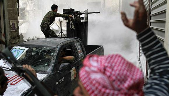 Casa Blanca insiste en que se debe intervenir Siria. (AFP)