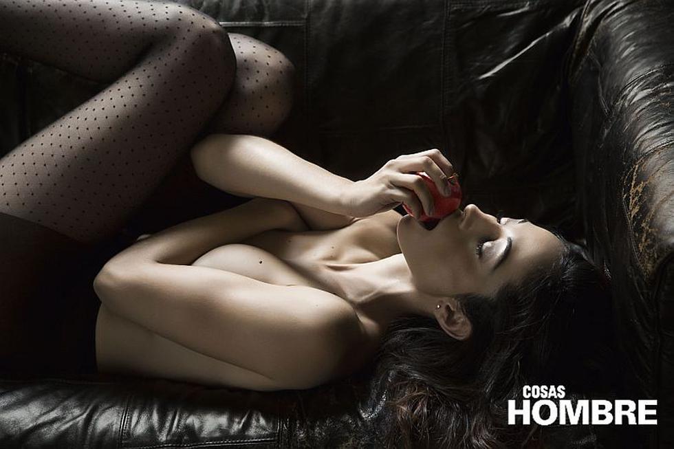 Olinda Castañeda protagonizó una sesión fotográfica de infarto para la revista Cosas Hombre. (Cosas Hombre)