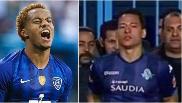 André Carrillo y Cristian Benavente se enfrentarán en duelo amistoso. (Foto: Twitter)