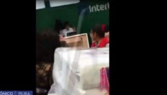 Testigos señalaron que dos de ellos encañonaron al agente de seguridad. (Foto: Captura Canal N)