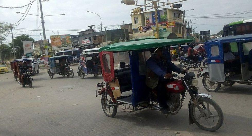 Los mototaxistas exigen que se les formalice y que no se amplíe el anillo vial. (Foto: Johnny Obregón)