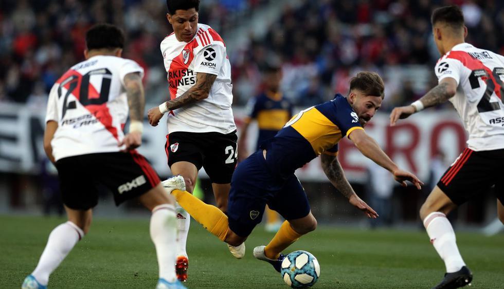 River Plate recuperó en las últimas horas a dos jugadores claves que estaban lesionados, el mediocampista uruguayo Nicolás De la Cruz y su goleador de jerarquía, Lucas Pratto. (Foto: AFP)