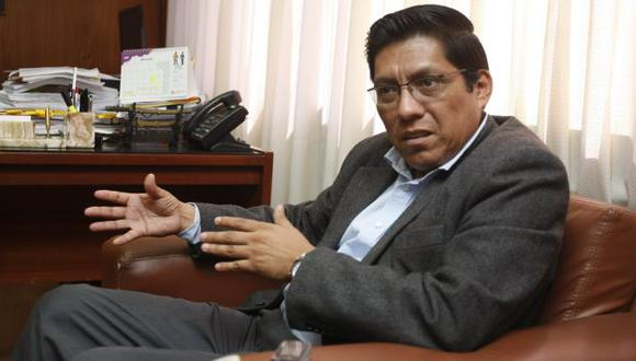 Vicente Zeballos habló sobre los avances en la investigación a la red Orellana. (USI)
