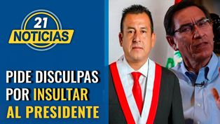 Congresista Pérez Mimbela pide disculpas al presidente Vizcarra por haberlo insultado