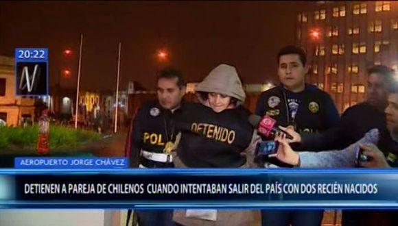 Los chilenos son investigados por el presunto delito contra la libertad, en la modalidad de trata de personas. (Foto: Canal N)
