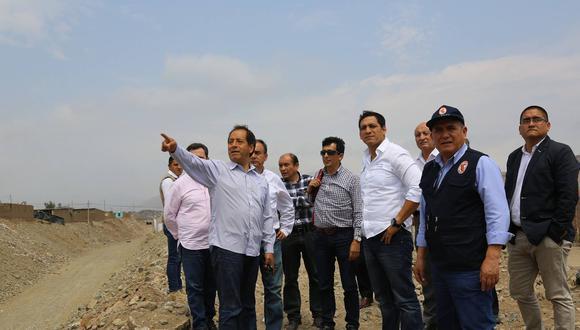 Edgar Quispe visitó las quebradas de Trujillo.