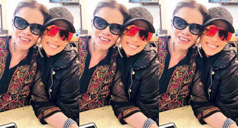 Prueba de su renovado entendimiento, la actriz publicó una fotografía al lado de la cantante. (Instagram)