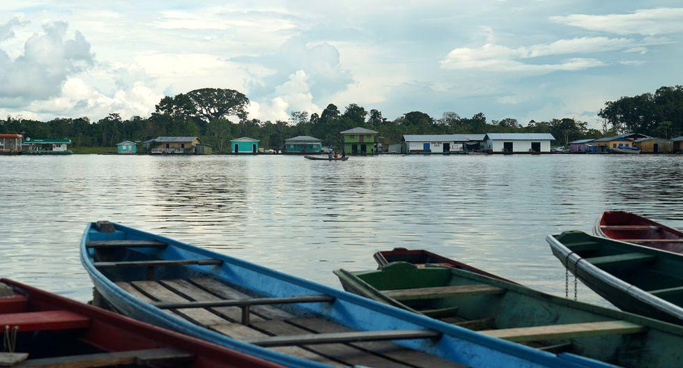 Vista de la ciudad de Carauari, donde los residentes temen el alcance y la propagación de la pandemia del coronavirus COVID-19 en la Amazonía, Brasil. (Foto: AFP/Florence Goisnard)